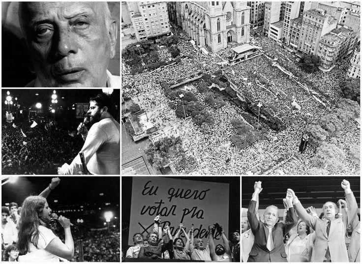 Início da onda de manifestações das Diretas Já completa 30 anos hoje - Fotos - R7 Brasil
