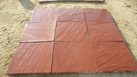 Buy agra red sandstone paving for interior and exterior in various finishes from Stonemart, the leading natural stone exporter in india.