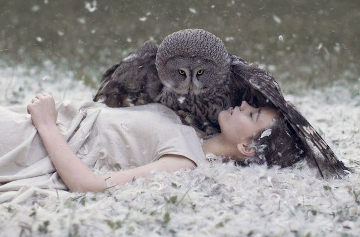 Katerina Plotnikova is a photographer from Russia, and her art looks like it is something out of a fantasy. It is whimsical, weird and otherworldly I find these incredibly inspiring! What about you?