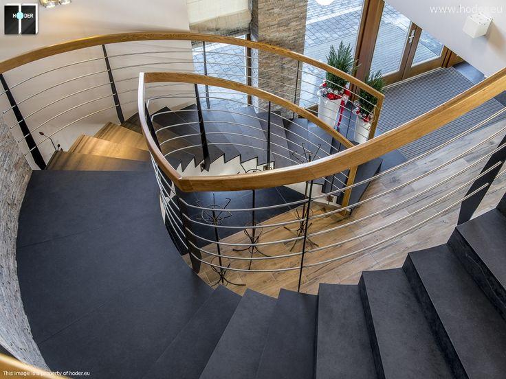 Projekt schodów kamiennych - realizacja  #kamień #granit #wnętrza #interior #design
