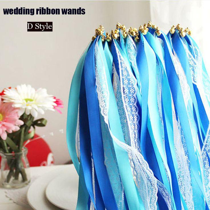 Varas varinhas fita fita varinhas com sinos de casamento adereços decoração de casamento Mariage em Decoração de festa de Casa & jardim no AliExpress.com | Alibaba Group