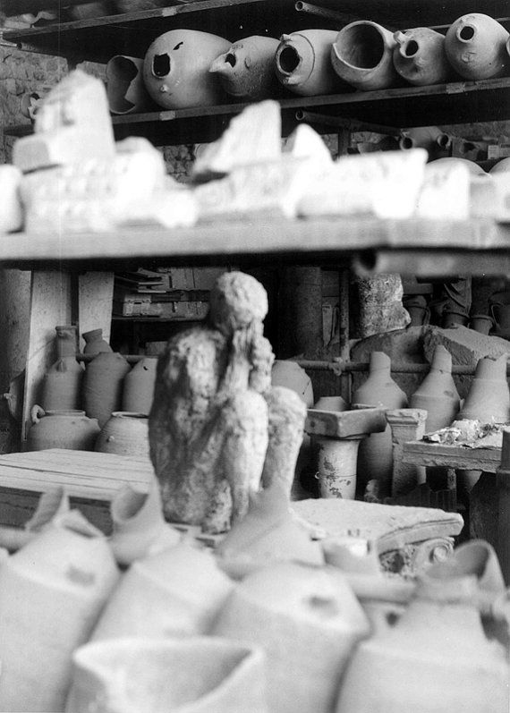 Photographic Print, Pompeii Italy II, by Maria Ernest Fragopoulou, Mouse In The Dollhouse