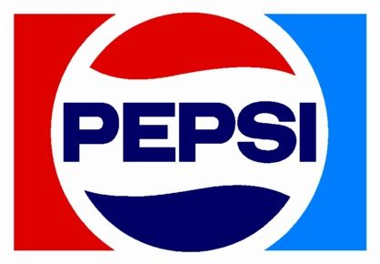The Pepsi logo is an old logo but timeless. You simply don't get bored of it as it isn't too fancy but once you see it you understand right away that it is Pepsi. The light blue somehow goes very well with the white, red and navy blue. It doesn't stand out in a bad way as I would expect it to. The font is very plain but the bold shows confidence.