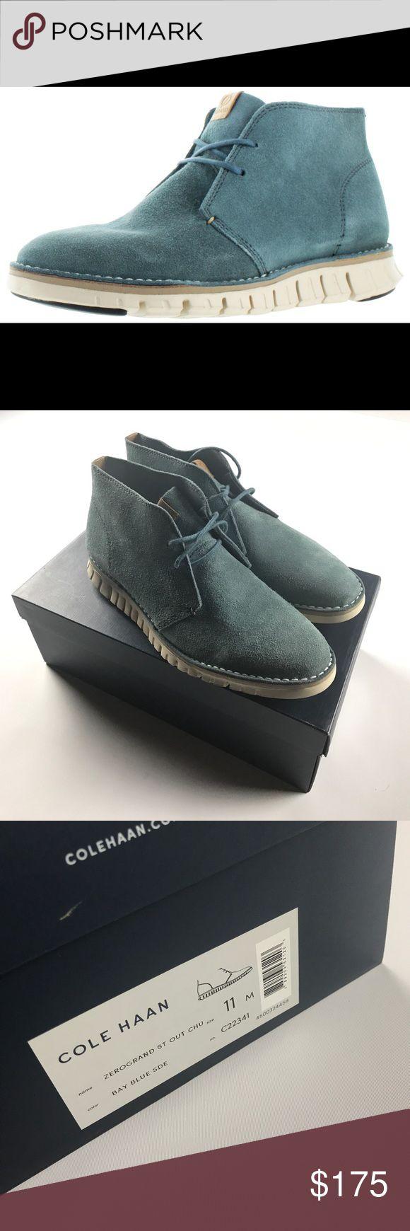 New 11 Cole Haan Zerogrand Stitch Out Chukka Boots New Cole Haan Shoes Chukka Boots