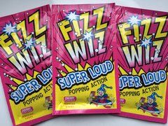 Fizz Wiz Popping Candy Cherry Flavour (5 packs)
