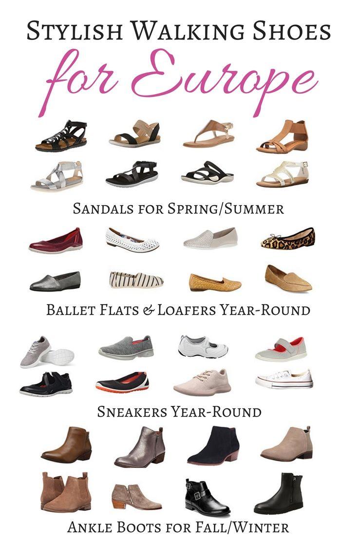 Stylish Walking Shoes for Europe - Pick