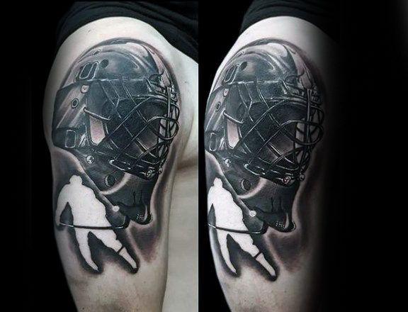 75 Hockey Tattoos For Men Nhl Design Ideas Arm Tattoos For Guys Tattoos For Guys Hockey Tattoo