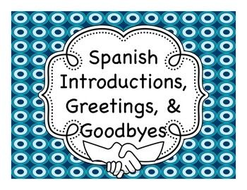 Spanish lesson 4 - Greetings and goodbyes in spanish ... |Spanish Greetings And Good Byes