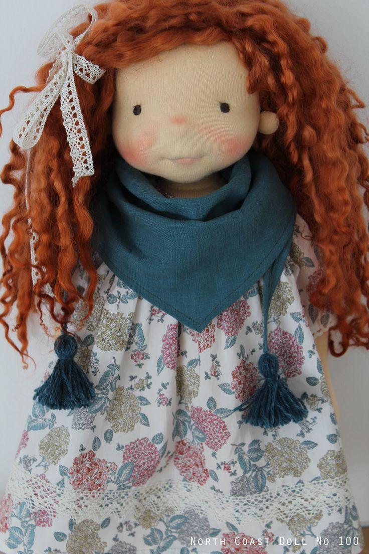 Sidonie by North Coast Dolls. Cute hair. Like the simple lace hair tie...