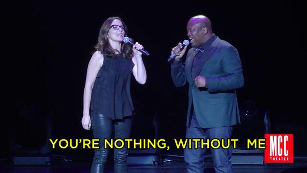 Watch Tina Fey And Tituss Burgess Sing A Hilarious Duet Together