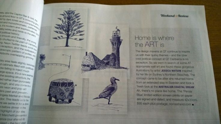 This months Australian Traveller Magazine.