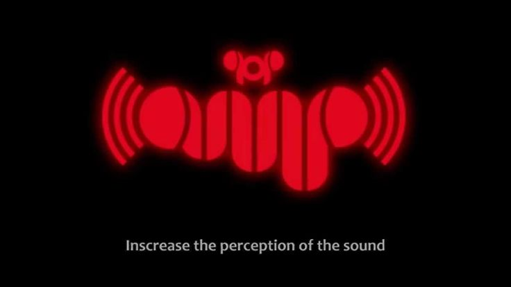 Pop-amp Increase the perception of the sound