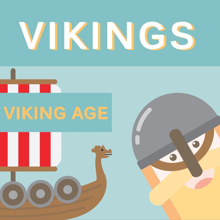 vikings - viking age illustration by cans.