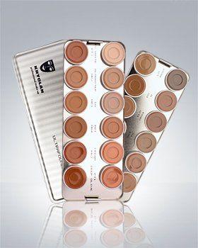 Ultra Foundation 24 Color Palette Kryolan Makeup 9008 $104.99 ORDERING THIS ASAP! #MUA #artistry