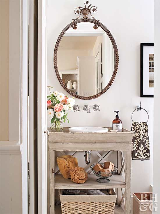 Digital Art Gallery  Ideas for a DIY Bathroom Vanity