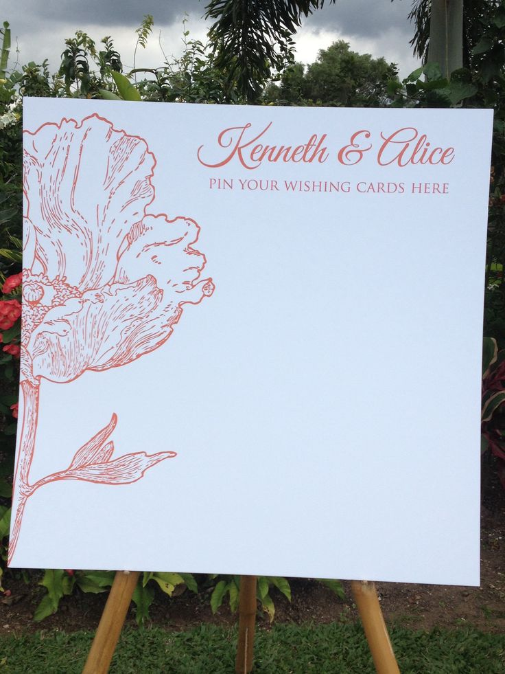 Pin Your Wishes Board Used As A Wedding Guest Book For Jamaican Wedding By Helen G
