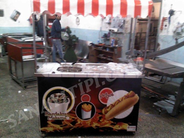 Bardakta Makarna + Hotdog Standı » - Sanayi tipi