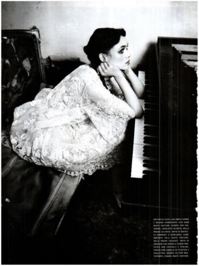 I studied piano beginning at age 6 under the direction of a beautiful soul-Miss Amanda Q. -- and I still play today.