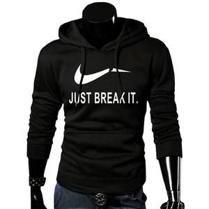 93daab72d New Arrival High JUST BREAK IT Printed Sportswear Men Sweatshirt Hip ...