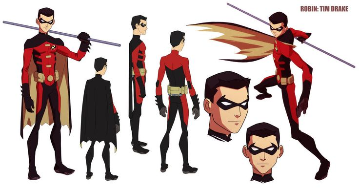 Cartoon Network's Young Justice animated series has carried on the proud tradition of DC animation, and the character designs are a key part of that. Artist Phil Bourassa recently released the turnarounds to several of the characters he did for the show.