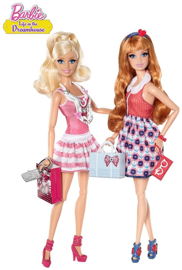 Barbie Life in the Dreamhouse Barbie and Midge 2-Pack - Barbie Dream House Dolls | Barbie Collector