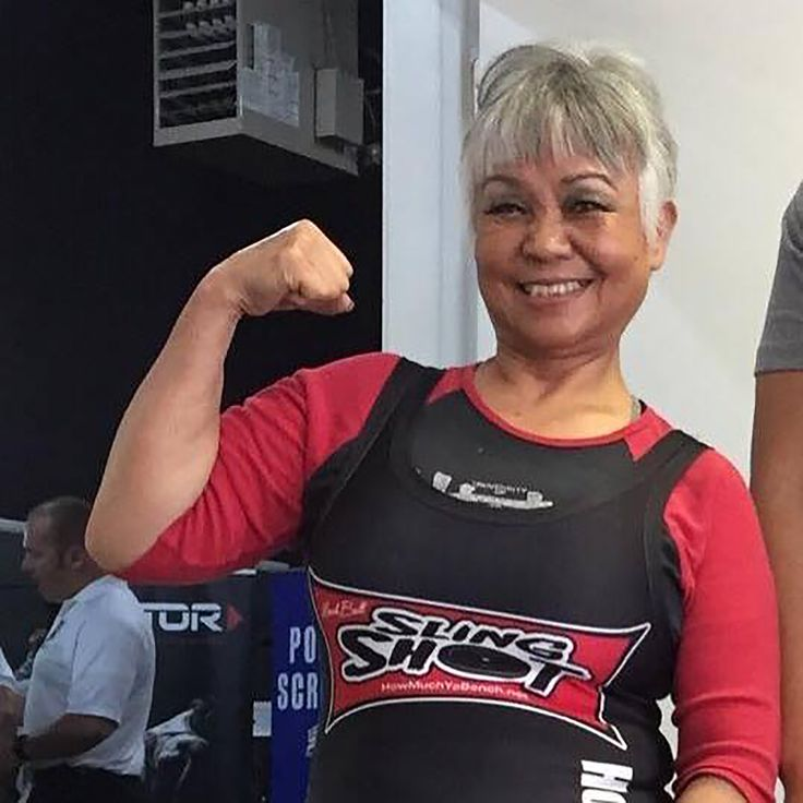 Susie Rose set a new dead lift record in June at an American Powerlifting Federation competition by raising 209.4 pounds in the Women's 65-and-over age group.