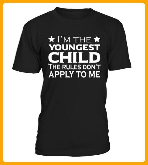 Youngest Child Rules TShirt - Neujahr shirts (*Partner-Link)