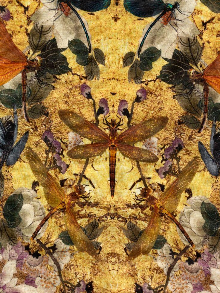 Alexander McQueen Hummingbird-print dress