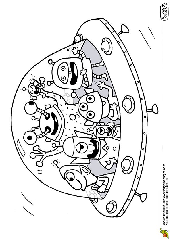 En Soucoupe Volante, page 4 sur 18 sur HugoLescargot.com