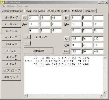 Calc3D - Matematica Avancada. Veja em detalhes no site http://www.mpsnet.net/G/105.html via @mpsnet Programa p/ matematica avançada, Calculo Vetorial em 3D, Geom Analítica, Coord Cartesianas Esfericas e Cilindricas, Matrizes e Nº Complexos. Veja em detalhes neste site
