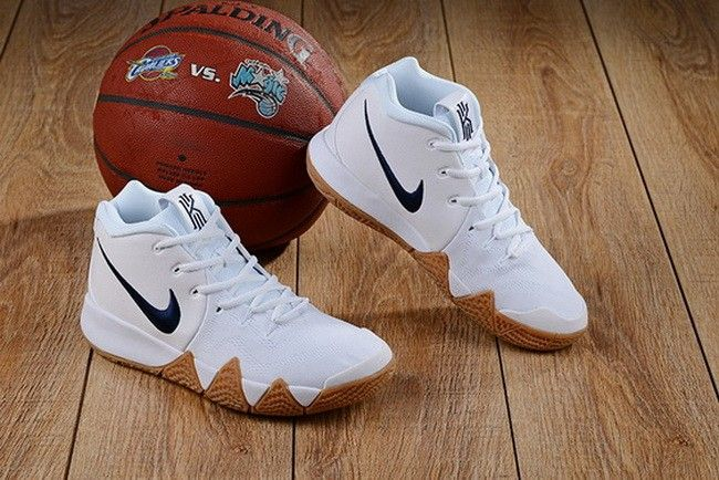 35488fcce5b Nike Kyrie 4 White Gum For Sale