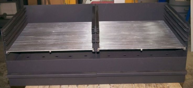 Vulkan Grill GE 100 Grilleinsatz - ohne Grillgitter