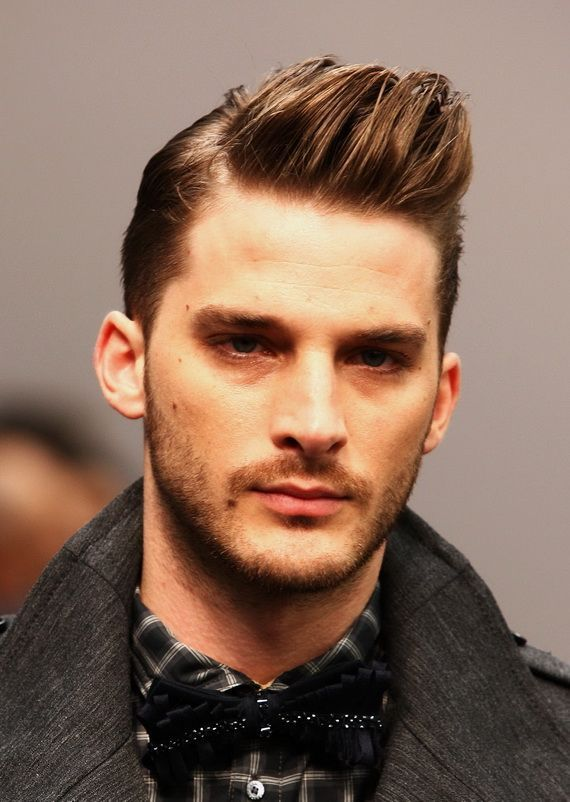 Elegant Vintage Hairstyles for Men # coiff men