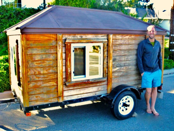 Rob finds his new tiny house on craigslist for 950 ready for Rv square footage