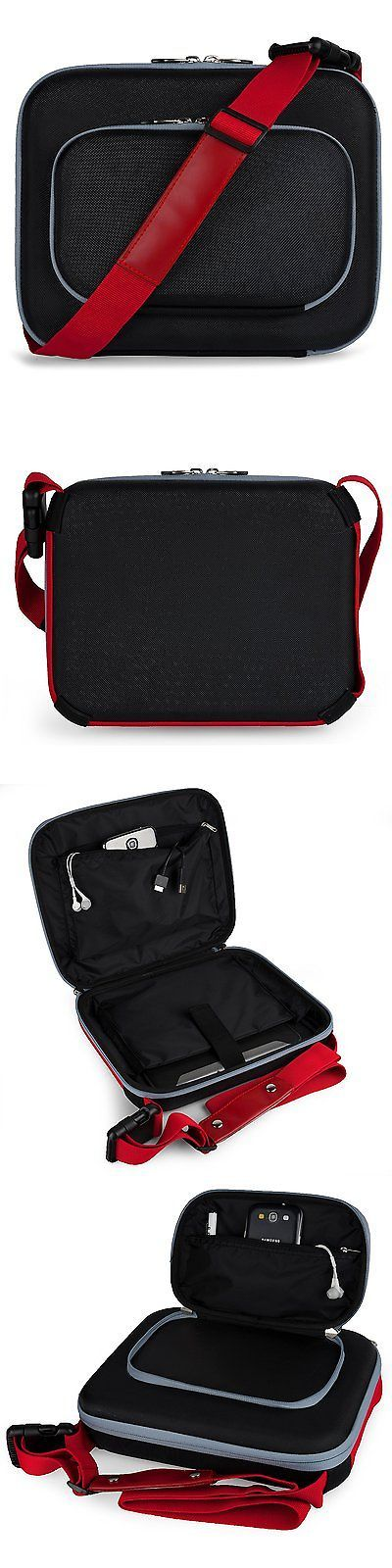 Cases Covers and Skins: Red Hard Shell Nylon Cube Carrying Case For Phillips 9 Inch Portable Dvd Player -> BUY IT NOW ONLY: $37.94 on eBay!