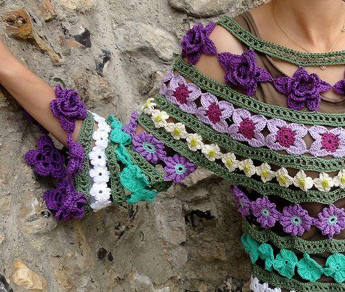 Eclectic Gipsyland: Crocheter la Bohême ... http://gipsybazar.blogspot.ca/2011/07/crocheter-la-boheme.html