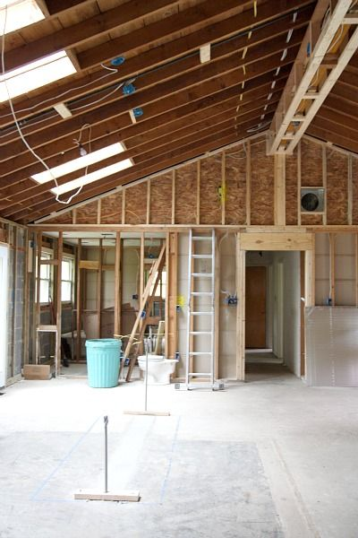 vaulting a ceiling ranch house house - House Remodeling