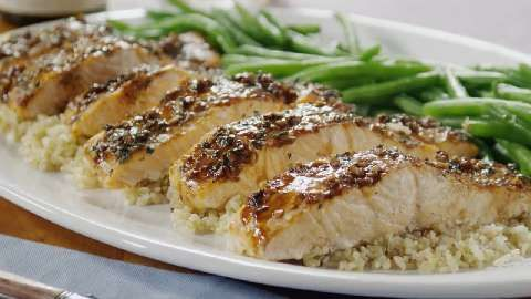 Balsamic-Glazed Salmon Fillets Allrecipes.com