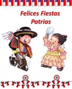Resultado de imagen para poster de fiestas patrias chilenas para colegios