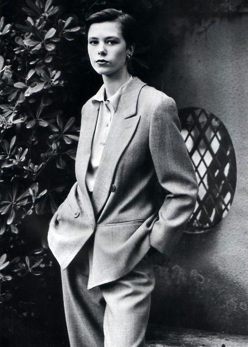 Giorgio Armani, American Vogue, August 1989. Photograph by Aldo Fallai.