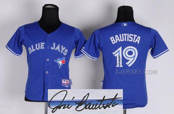 http://www.xjersey.com/blue-jays-19-bautista-blue-youth-signature-edition-jerseys.html BLUE JAYS 19 BAUTISTA BLUE YOUTH SIGNATURE EDITION JERSEYS Only $34.00 , Free Shipping!