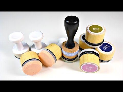 Aplicadores de tinta caseros | Manualidades