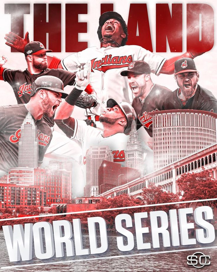 CLEVELAND IS WORLD SERIES BOUND!  Indians take down Blue Jays in 5 games, advancing to 1st World Series since 1997.