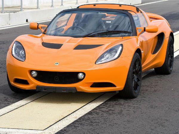 2016 Lotus Elise S (Orange)