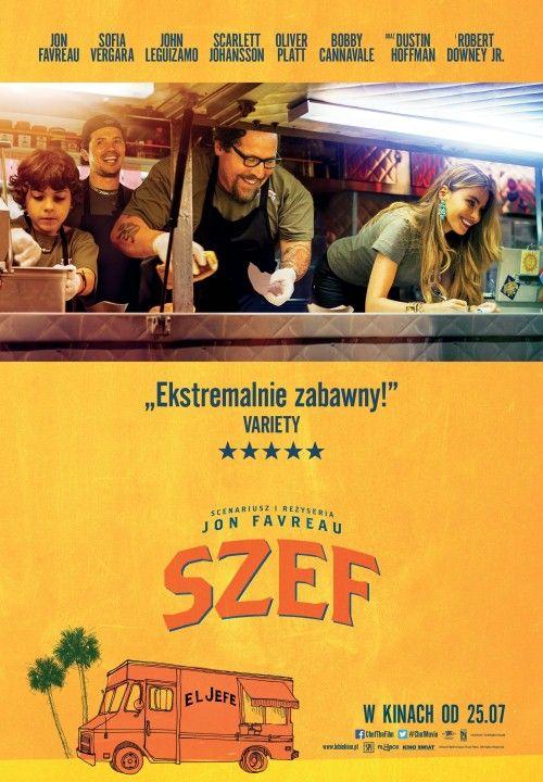 """""""Szef"""" - to komedia z 2014 r. Carl traci posadę w popularnej kuchni. Postanawia otworzyć food truck."""
