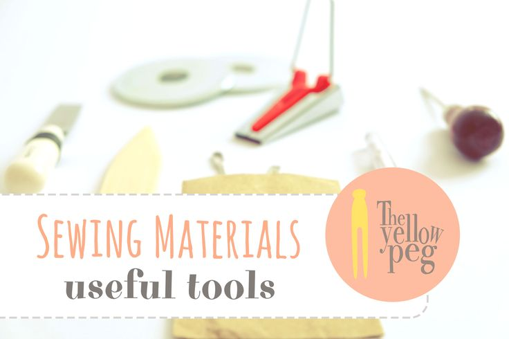 Sewing materials - useful tools: the shopping guide.