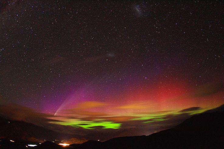 northern lights comet - photo #18