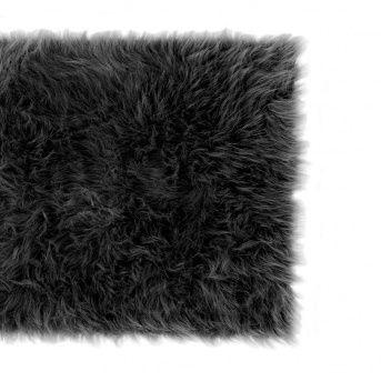 Faux The Love Of Fur Rug Black Wakeupfrankie