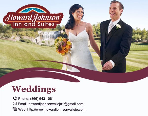 Howard Johnson Inn & Suites of Vallejo are Perfect Luxury Hotel in Vallejo for Your #Wedding Visit Us At:- http://bit.ly/2ctBog5