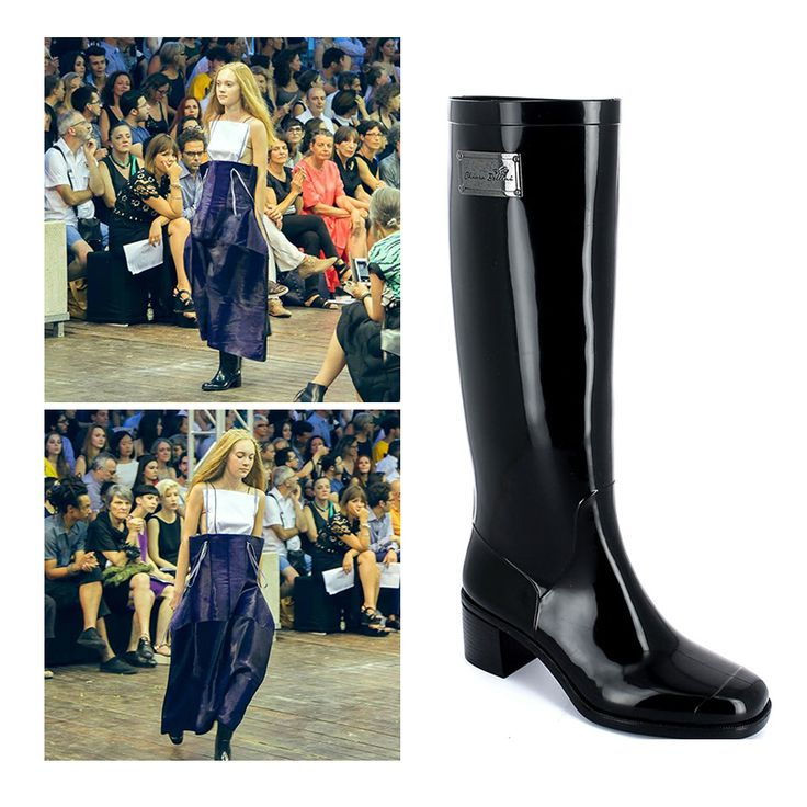 Pvc Boots by Chiara Bellini at the Fashion Show of the Iuav Institute (Venice)